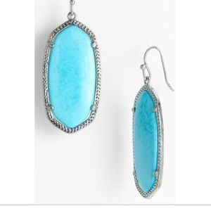 Turquoise Elle Earrings by Kendra Scott
